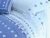 I Love Blue and White