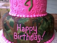 Camo/hunting cakes