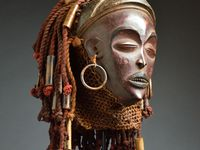 African masks and folklore