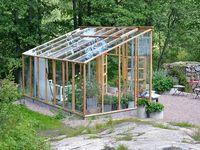 Trädgård och växthus