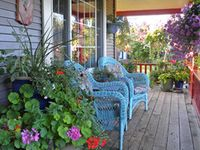Porches - the best place to relax
