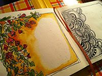 zentangles/doodles/sketch