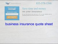Business Insurance Quote Sheet Life Insurance Quotes Term Life Insurance Quotes Insurance Quotes