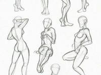 Partes del cuerpo para dibujar
