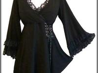 fashion ideas, not so little black dress.