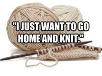 Things want to knit and laugh about