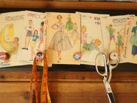 Laundry/Craft Room Ideas / vintage laundry room