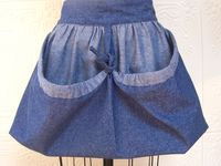 Egg gathering aprons on pinterest aprons apron patterns and half