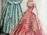 Ilustraciones Moda Vintage