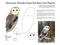 Felt birds/Downeast Thunder