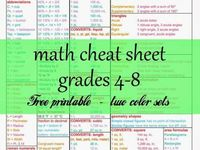 maths middle school