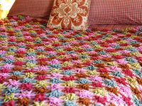 Afghans, blankets, throws and .........