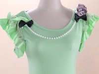 Making plain old (or new) T-Shirts into something cute by adding your own embellishments.