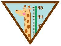 Brownie Girl Scout My Best Self Badge
