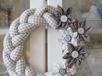 Wianki Wreath Girlanda Garland Łapacz snów Dreamcatcher / Wianki Wreath Girlanda Garland Łapacz snów Dreamcatcher dekoracje wiszące - na drzwi, na ścianę, z sufitu