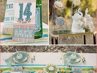 Party decor, ideas and inspiration