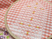 Chicken scratch embroidery--quilts