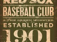 "Red Sox ""Nuf Ced"" stuff"