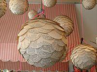 sculptures: art paper work...