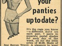 Mostly sexist vintage ads, some just weird.