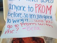 PROM asking ideas