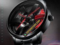 Volk Racing Rays Car Rim Men S Wrist Watch In 2020 Rims For Cars Wristwatch Men Wrist Watch