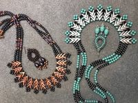 Seed Bead Necklace #$1