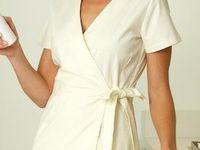 Employee clothing options on pinterest spa uniform nail for Spa employee uniform