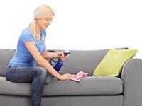 10 Ideas De Como Limpiar Muebles De Tela De Gris Limpiar Trucos De Limpieza Limpieza