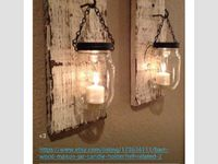 Rustic Lighting Recycled Tin Cans And Christmas Tree Stands