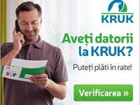Datorii la KRUK / Ai datorii la KRUK? Un consultant te va ajuta sa-ti esalonezi platile. Contacteaza-ne! http://ro.kruk.eu/  031 413 20 20