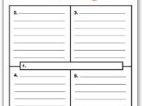 expository essay planning sheet