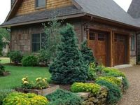 Front yard, Backyard, Fences, Siding, Potting Sheds