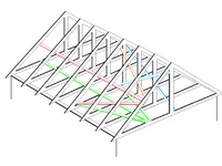 35 best images about t r u s s on pinterest roof trusses for Pre engineered roof trusses