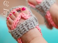 Crochet Baby Sandals/Shoes