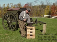 blacksmiths traveling forge history specifications