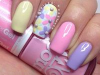 Spring nails and piggies