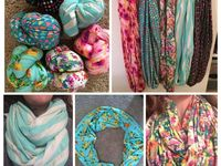 By Alissa Jersey Knit Infinity Scarves