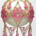 BEADED ORNAMENT COVERS & ORNAMENTS