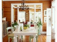 knotty pine cabin decor