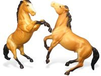 I LOVE breyer horses and Peter stones. There is a verity of both in this board and resin models too!