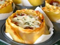 Recipes on Pinterest   Lasagna Cups, Crescent Rolls and Lasagna