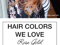 Hair color ideas ❤️