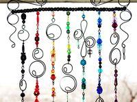 Beaded hangings