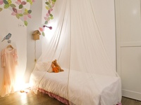 Sfeerbeelden van kinderkamer muurstickers en babykamer muurstickers; lifestyle images of kids room and nursery wall decals