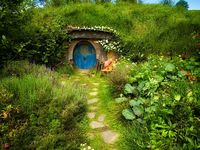 Hobbit Home Style On Pinterest Hobbit Houses Hobbit Hole And Hobbit