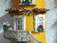 Fachadas, retablos, balcones, porta llaves