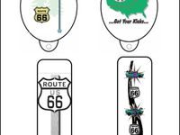 Route 66 and road signs