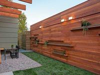 Terrassenwände / Ideen