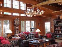 Adirondack style on Pinterest | Lake Cabins, Cabin and Boathouse